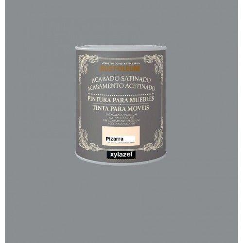 PINTURA SATINADA RUSTOLEUM - 750ML - PIZARRA