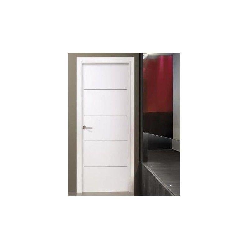 Puertas blancas lacadas precios puertas lacadas blancas for Oferta puertas blancas interior