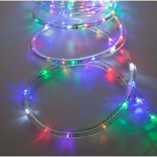 MANGUERA LED DAYRON - LUZ MULTICOLOR - 24 LEDS - 4 METROS - IP65