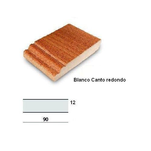 RODAPIE BLANCO 90X12 - CANTO REDONDO