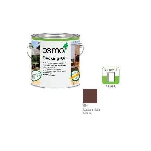 OSMO ACEITE DECKING - 014 MASSARANDUBA - 0.125L