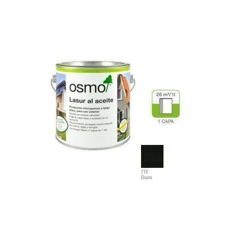 OSMO LASUR ACEITE - 712 EBANO - 0.125L