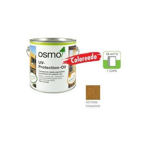 OSMO LASUR PROTECCION UV TINTADO - 425 ROBLE - 0.125L