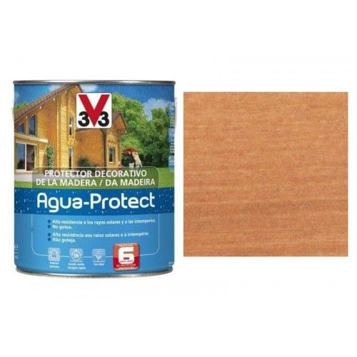 PROTECTOR AGUA PROTECT V33 - 750ML ROBLE DORADO-PROMO VAGUADA
