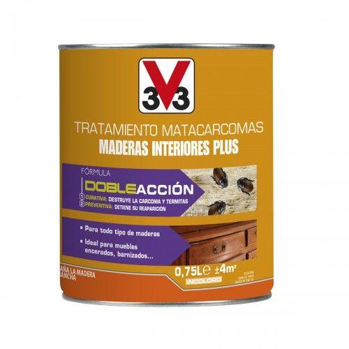 TRATAMIENTO MATACARCOMAS MUEBLES V33 - 750ML INCOLORO-PROMO VAGUADA