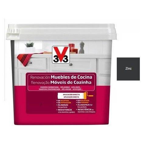 RENOVACION MUEBLES COCINA V33 - 750ML ZINC