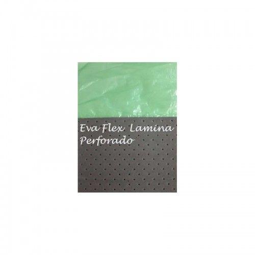 AISLANTE ACUSTICO PERFORADO 2MM - EVA FLEX LAMINA PERFORADO 1.2MX25M (BOBINA:30M2)