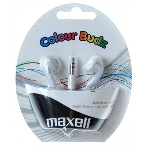 AURICULARES COLOUR BUDZ - WHITE/BLANCO