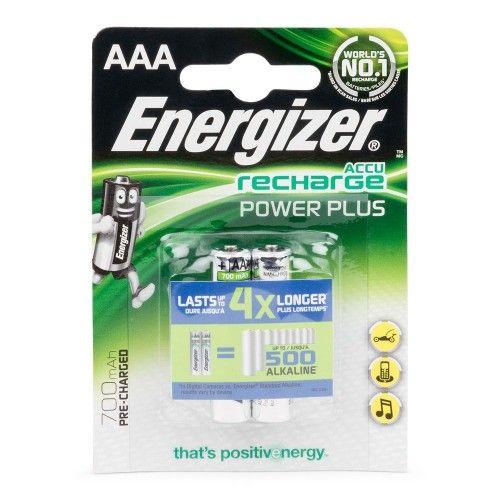 PILA ENERGIZER AAA RECARGABLE - 2 UNIDADES HR-03 BL-2