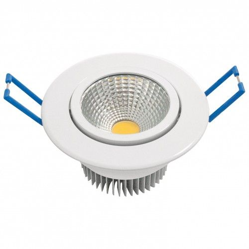 DOWNLIGHT LED GARZA BLANCO COB - 7W - 3000K LUZ CALIDA - 600LM