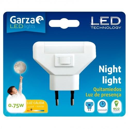 LUZ NOCHE QUITAMIEDO GARZA - LED 0.7W BL1