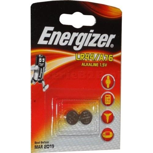 PILA ENERGIZER   LR44/A76 - BLISTER MAXI 2 PILAS