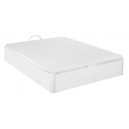 Canapé Madera Gran capacidad Blanco 135x200 cm  con montaje a domicilio gratis
