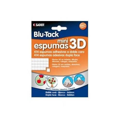 MINI ESPUMAS 3D BOSTIK - 414 ESPUMAS ADHESIVAS DOBLE CARA