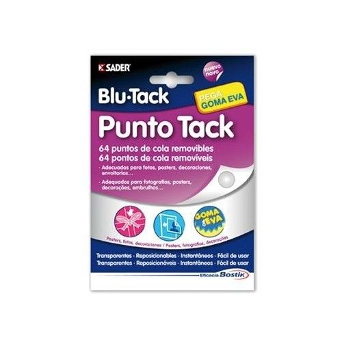 PUNTO TACK BOSTIK - 64 PUNTOS REMOVIBLES
