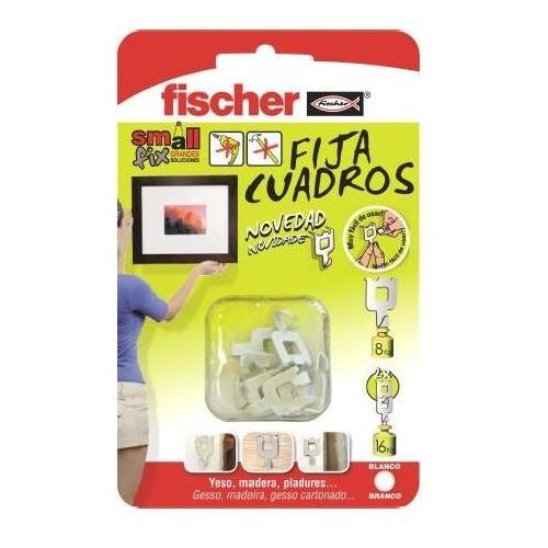 FIJA CUADROS FISCHER BLANCO - YESO MADERAS PLADURES