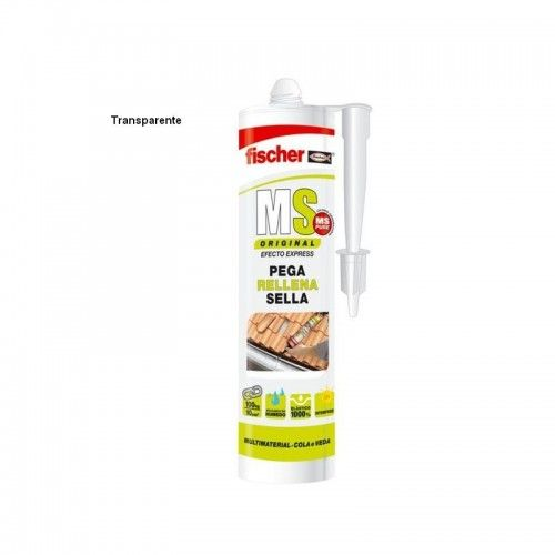 SELLADOR ADHESIVO FISCHER - TRANSPARENTE CARTUCHO 290ML
