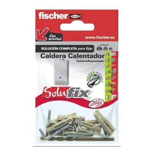 KIT FIJACION CALDERA/CALENTADOR - FISCHER -SOLUFIX