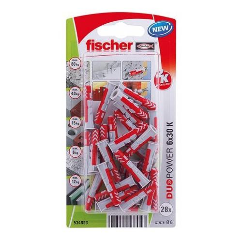 TACO FISCHER DUOPOWER  6X30 - BLISTER