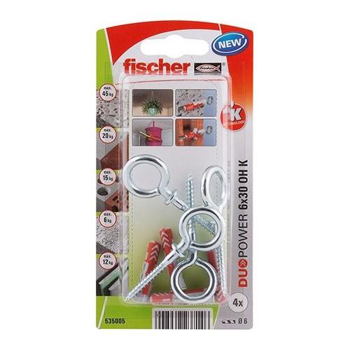 TACO FISCHER DUOPOWER  6X30 OH - BLISTER