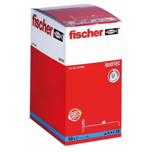 TACO FISCHER DUOTEC 10 - CAJA 50 UD