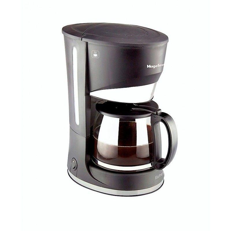 CAFETERA MAGEFESA RISTRETTO 12T - 800W - ELECTRICA - ANTIGOTEO - 12 TAZAS