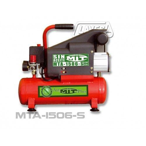 COMPRESOR MITO - 1.5CV 6LTS - SIN ACEITE