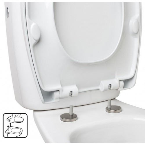 TAPA WC - OPTIMA  BLANCO