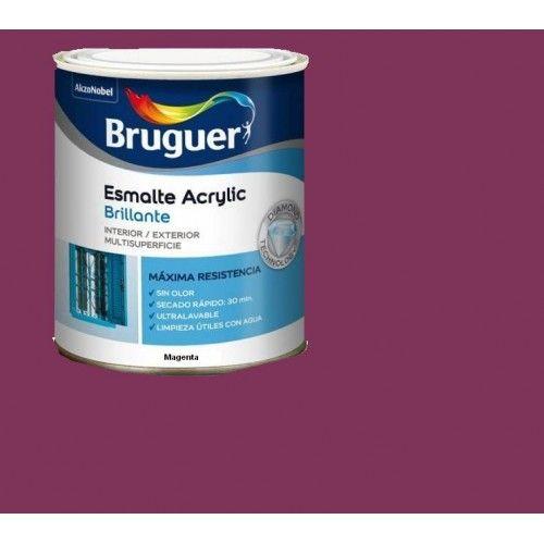 ESMALTE ACRILICO BRILLO BRUGUER - 1059 BEIGE CLARO-750ML