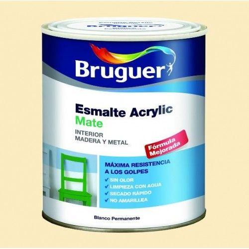 ESMALTE ACRILICO MATE BRUGUER - 1707 BEIG-750ML