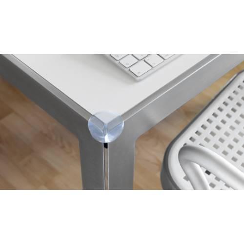 Protector de cantos adhesivo - transparente (4ud)