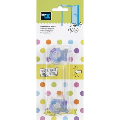 Retenedor puerta flexible - transparente