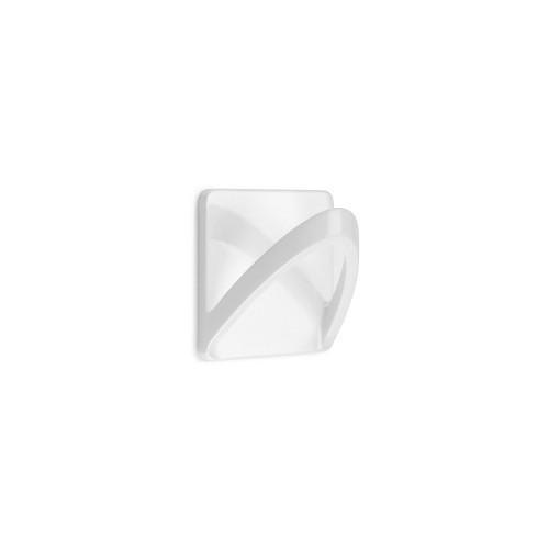 Colgador 2190-2 - adhesivo cinta blanco