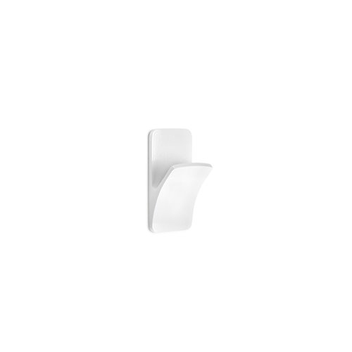 Colgador 2191-2 - adhesivo rama blanco