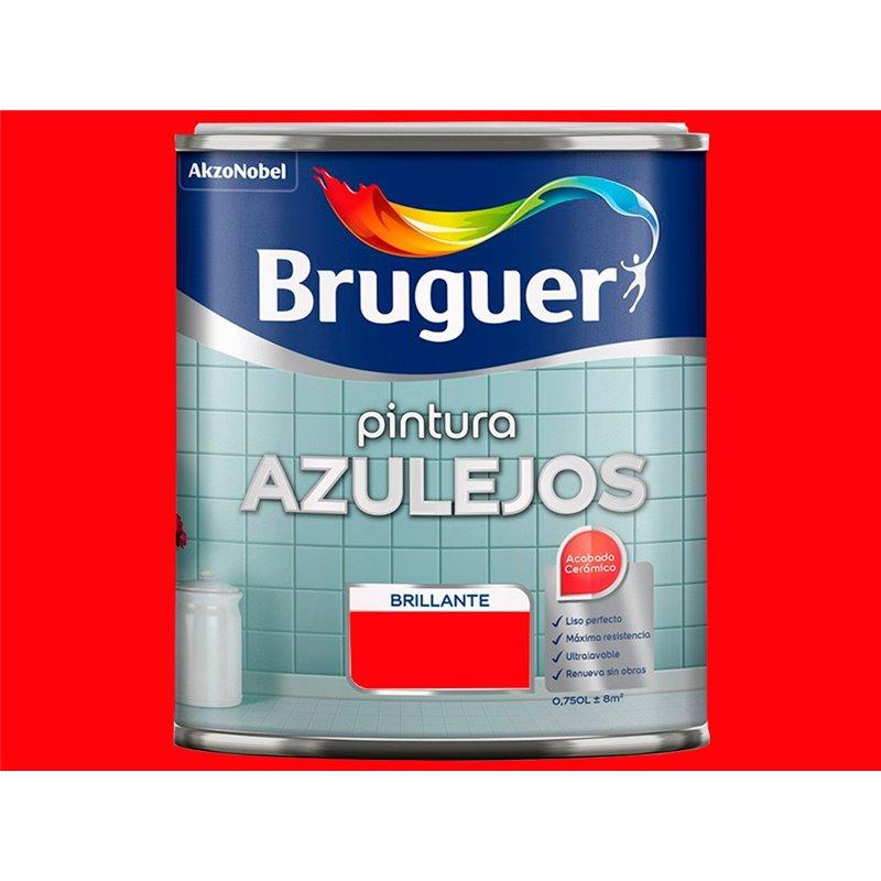 Esmalte azulejos cocinas y baños - rojo amapola - 750ml