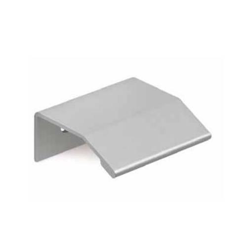Tirador aluminio - anodizado mate 16mm
