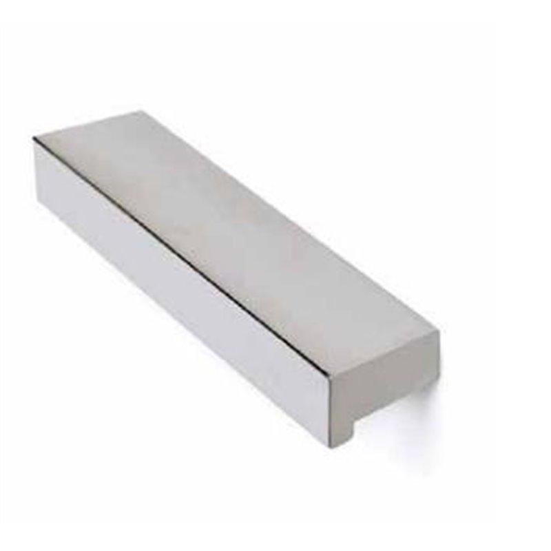 Tirador aluminio - cromo brillo 96mm