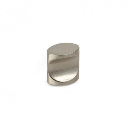 Tirador metalico - p-719 ovalado niquel satinado 18mm