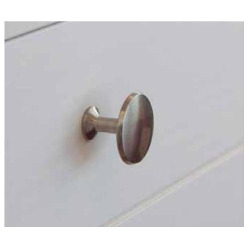 Tirador metalico - 23x30 niquel satinado