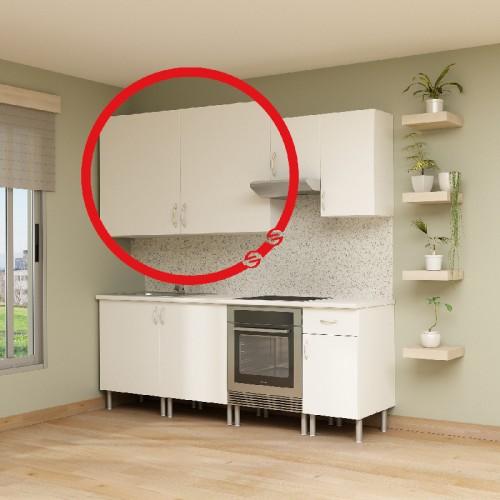 Casco alto de cocina con 2 puertas Excellence - Finsa