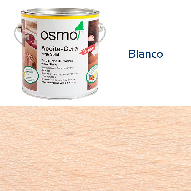 Aceite de cera coloreado - Osmo