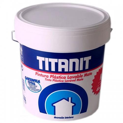Pintura plástica crema mate Titanit - Titan