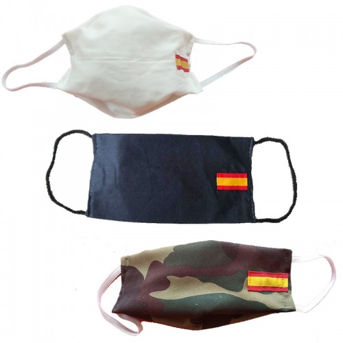 Mascarilla de tela con filtro - Bricosoriano