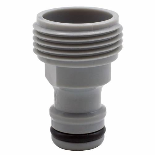 Adaptador de grifo tipo macho de PVC - Riegolux