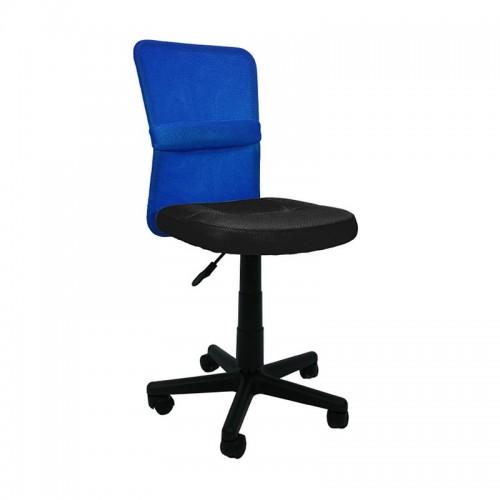 Silla de Escritorio ALBA - Furniture Style - Azul/Negro