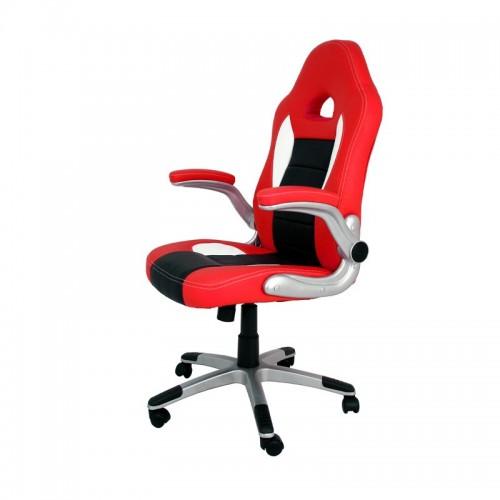 Silla de Escritorio Gaming VICTORIA - Furniture Style - Rojo/Negro