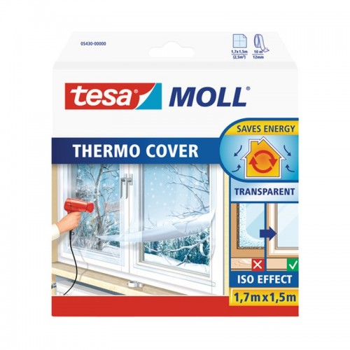 Película Aislante para Ventana THERMO COVER - Tesa - Transparente - 150 x 170 cm