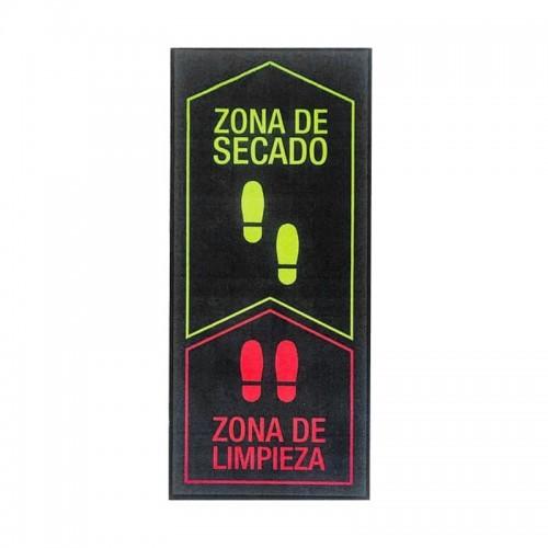 Alfombra Felpudo Desinfectante Vertical con Zona de Secado Pro-Sani - ASTUR DINTEX