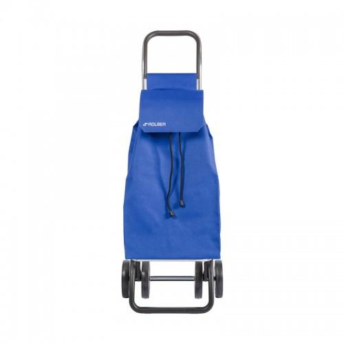 Carro de la Compra Rígido de 43 L con 4 Ruedas Saquet LN - ROLSER - Azul