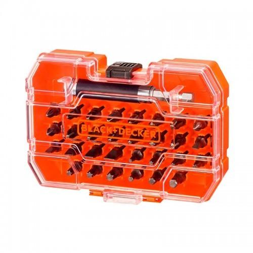 Set de 31 Piezas para Atornillar + Adaptador Magnético + Estuche A7228-XJ - BLACK+DECKER
